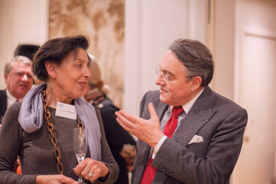 Christel de Wendel, Jean de Foucaud et Dominique de la Fouchardière