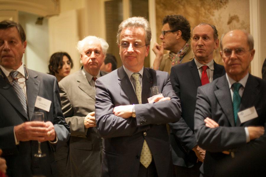 Joël Boutrolle, Frederic Didier, Patrick Masure et Dominique de la Fouchardière