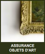 assurance objets d'art
