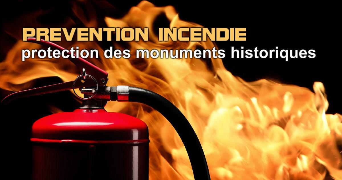 Le patrimoine bâti et la protection incendie