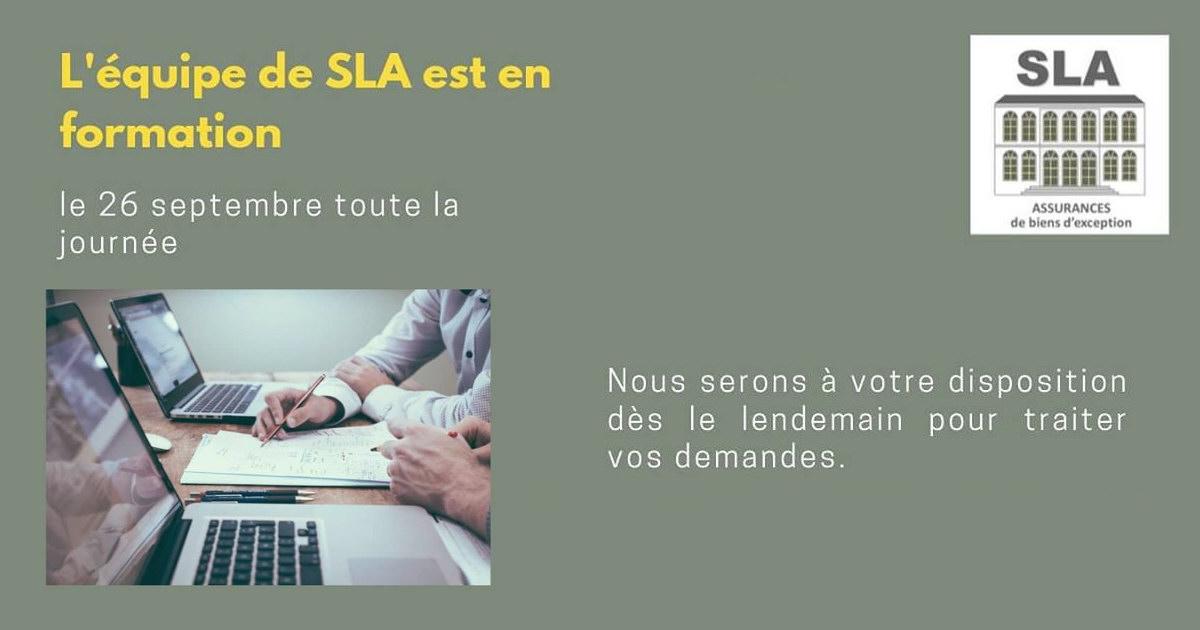 Assurance SLA en formation